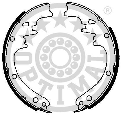 Jeu de mâchoires de frein - OPTIMAL - BB-6560