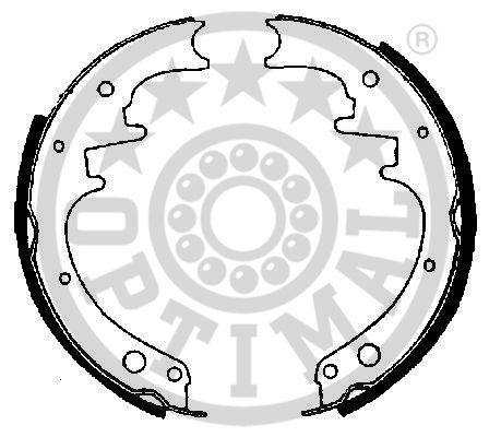 Jeu de mâchoires de frein - OPTIMAL - BB-6580