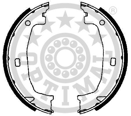 Jeu de mâchoires de frein - OPTIMAL - BB-7221