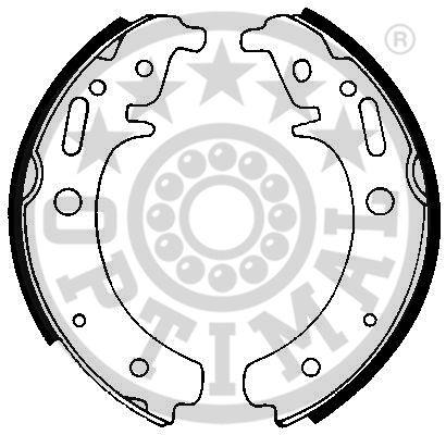 Jeu de mâchoires de frein - OPTIMAL - BB-7254