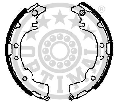 Jeu de mâchoires de frein - OPTIMAL - BB-7298
