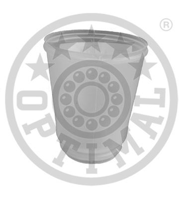 Bouchon de protection/soufflet, amortisseur - OPTIMAL - F8-4065