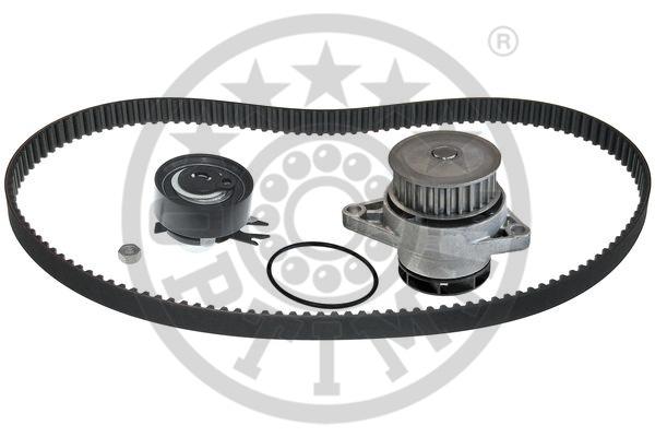 Pompe à eau + kit de courroie de distribution - OPTIMAL - SK-1074AQ1