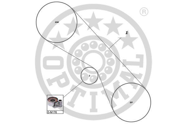 Kit de distribution - OPTIMAL - SK-1713