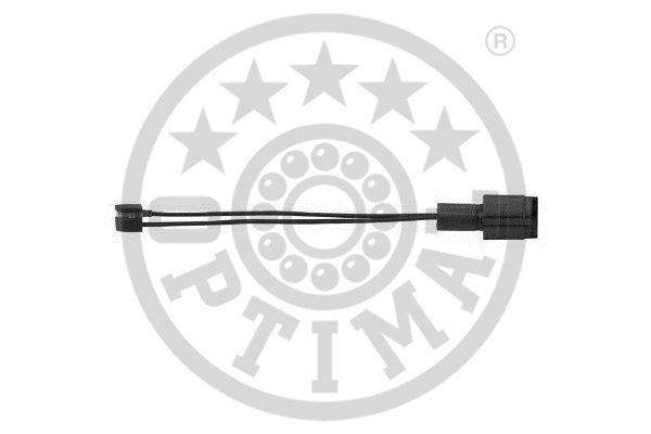Contact d'avertissement, usure des garnitures de frein - OPTIMAL - WKT-50004K