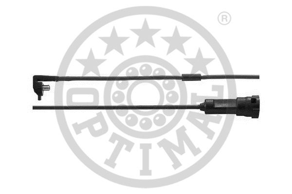 Contact d'avertissement, usure des garnitures de frein - OPTIMAL - WKT-50005K