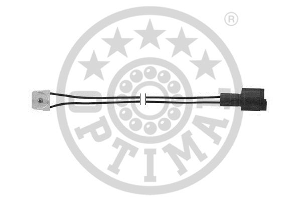 Contact d'avertissement, usure des garnitures de frein - OPTIMAL - WKT-50041K