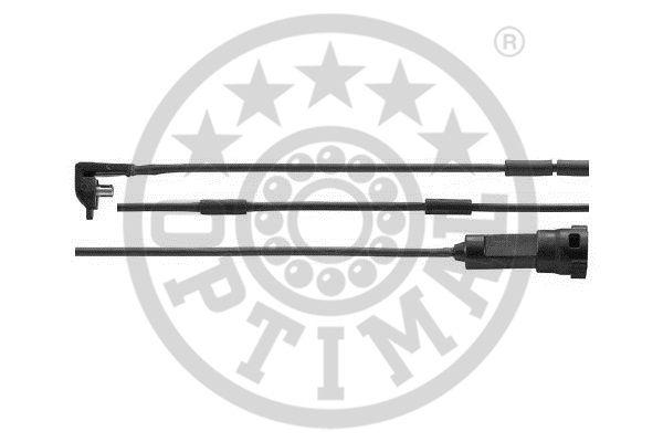 Contact d'avertissement, usure des garnitures de frein - OPTIMAL - WKT-50043K