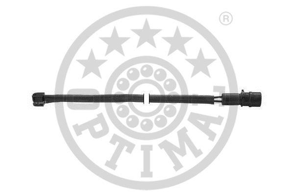 Contact d'avertissement, usure des garnitures de frein - OPTIMAL - WKT-50045K