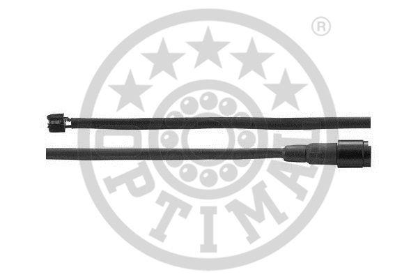 Contact d'avertissement, usure des garnitures de frein - OPTIMAL - WKT-50046K
