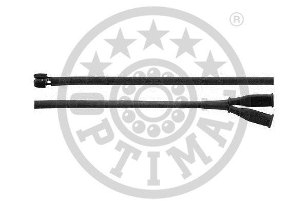 Contact d'avertissement, usure des garnitures de frein - OPTIMAL - WKT-50048K