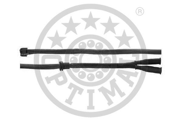 Contact d'avertissement, usure des garnitures de frein - OPTIMAL - WKT-50049K