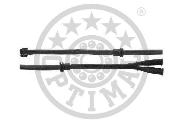 Contact d'avertissement, usure des garnitures de frein - OPTIMAL - WKT-50050K