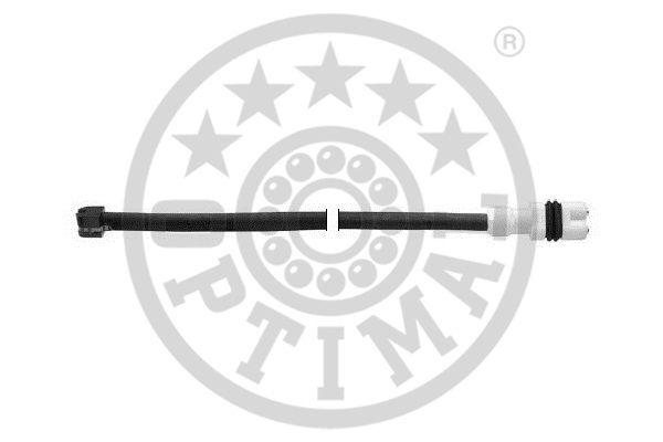 Contact d'avertissement, usure des garnitures de frein - OPTIMAL - WKT-50051K