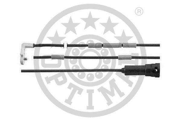Contact d'avertissement, usure des garnitures de frein - OPTIMAL - WKT-50056K