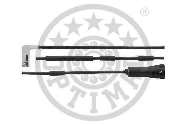 Contact d'avertissement, usure des garnitures de frein - OPTIMAL - WKT-50087K