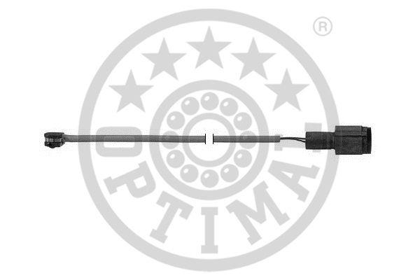 Contact d'avertissement, usure des garnitures de frein - OPTIMAL - WKT-50165K