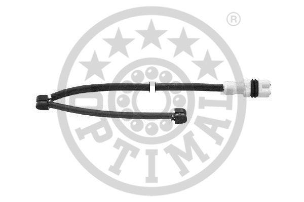 Contact d'avertissement, usure des garnitures de frein - OPTIMAL - WKT-50179K