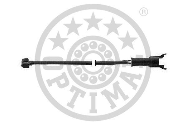 Contact d'avertissement, usure des garnitures de frein - OPTIMAL - WKT-50184K