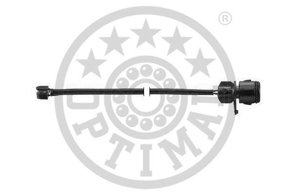 Contact d'avertissement, usure des garnitures de frein - OPTIMAL - WKT-50199K