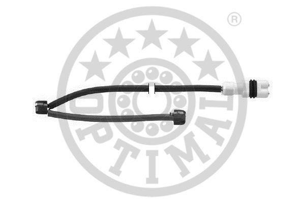 Contact d'avertissement, usure des garnitures de frein - OPTIMAL - WKT-50222K