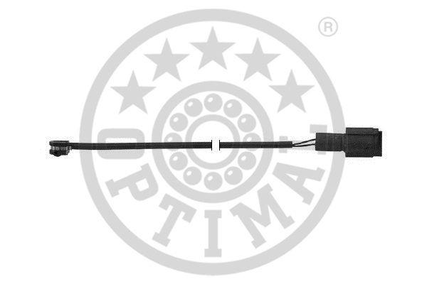 Contact d'avertissement, usure des garnitures de frein - OPTIMAL - WKT-50232K