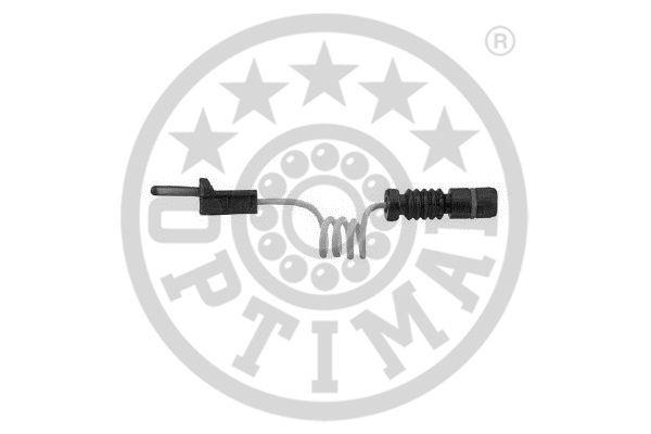 Contact d'avertissement, usure des garnitures de frein - OPTIMAL - WKT-50255K