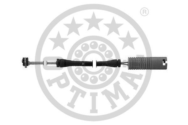 Contact d'avertissement, usure des garnitures de frein - OPTIMAL - WKT-50260K