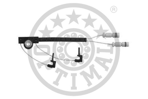 Contact d'avertissement, usure des garnitures de frein - OPTIMAL - WKT-50261K
