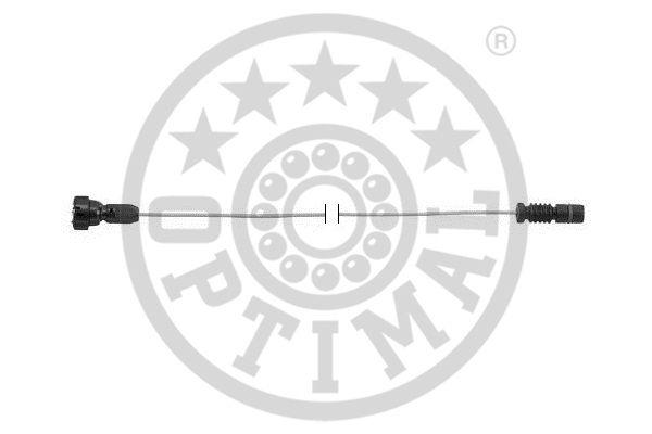 Contact d'avertissement, usure des garnitures de frein - OPTIMAL - WKT-50270K