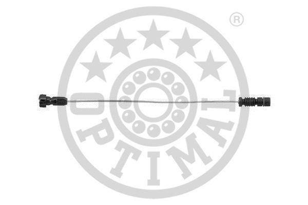 Contact d'avertissement, usure des garnitures de frein - OPTIMAL - WKT-50272K