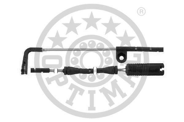 Contact d'avertissement, usure des garnitures de frein - OPTIMAL - WKT-50278K