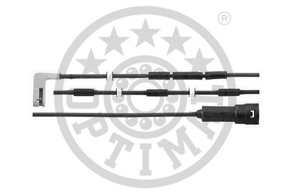 Contact d'avertissement, usure des garnitures de frein - OPTIMAL - WKT-50290K
