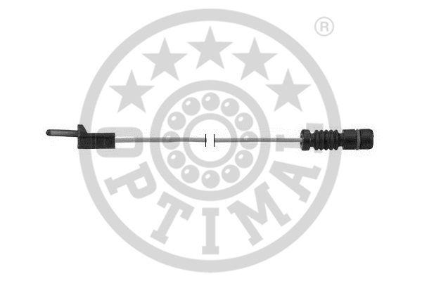 Contact d'avertissement, usure des garnitures de frein - OPTIMAL - WKT-50357K