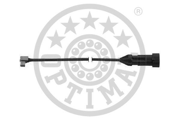 Contact d'avertissement, usure des garnitures de frein - OPTIMAL - WKT-50359K