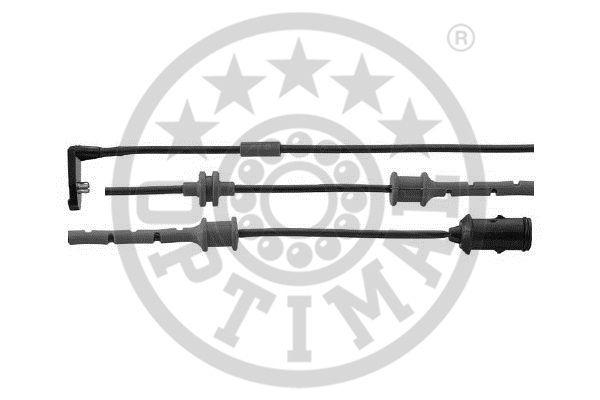 Contact d'avertissement, usure des garnitures de frein - OPTIMAL - WKT-50391K