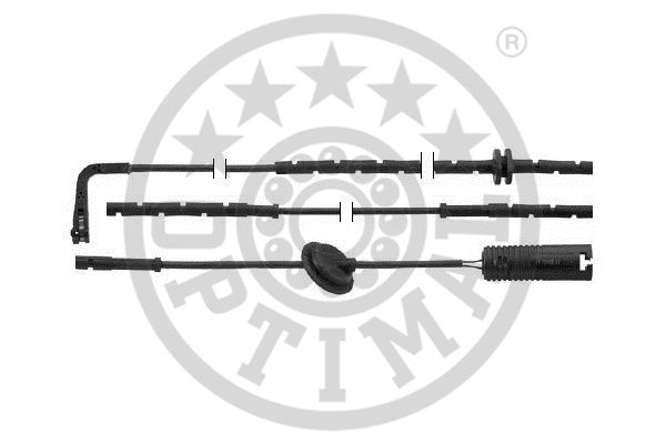 Contact d'avertissement, usure des garnitures de frein - OPTIMAL - WKT-50392K
