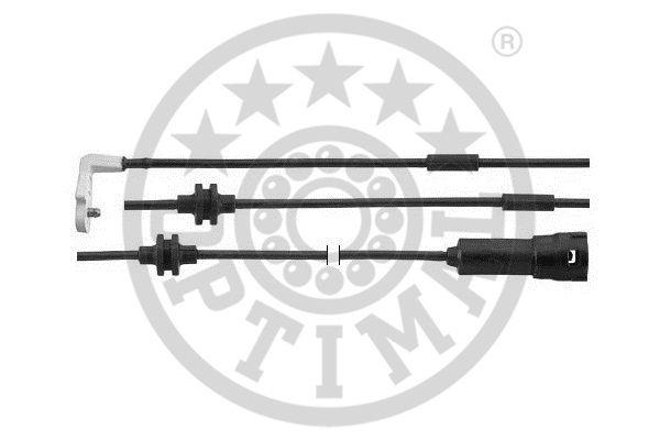 Contact d'avertissement, usure des garnitures de frein - OPTIMAL - WKT-50399K