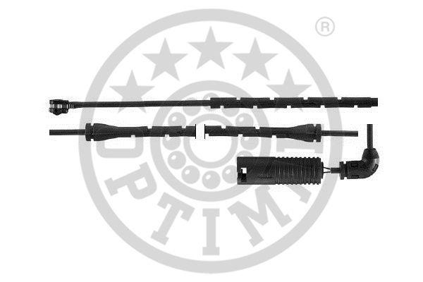 Contact d'avertissement, usure des garnitures de frein - OPTIMAL - WKT-50420K