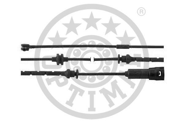 Contact d'avertissement, usure des garnitures de frein - OPTIMAL - WKT-50422K
