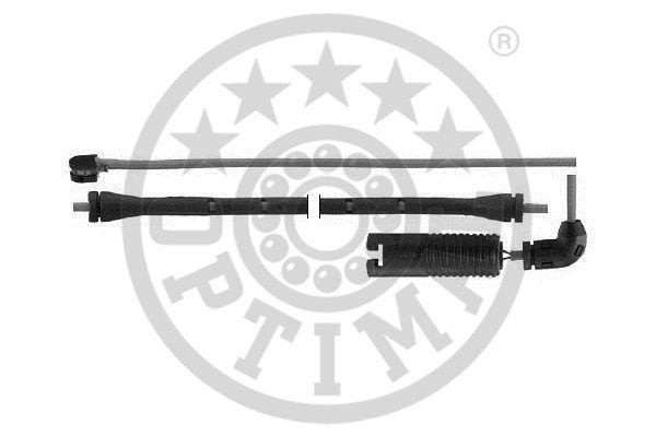 Contact d'avertissement, usure des garnitures de frein - OPTIMAL - WKT-50428K