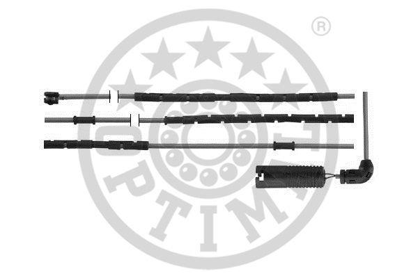 Contact d'avertissement, usure des garnitures de frein - OPTIMAL - WKT-50459K