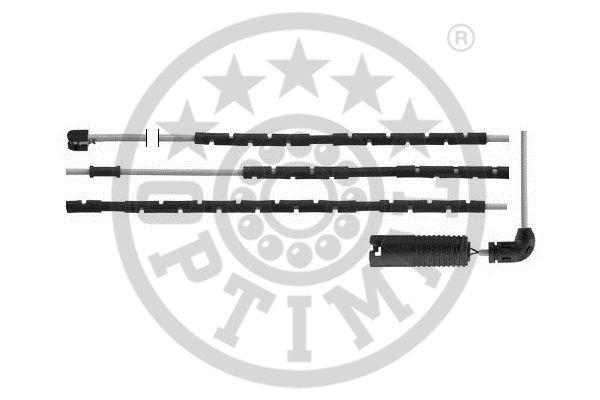 Contact d'avertissement, usure des garnitures de frein - OPTIMAL - WKT-50503K