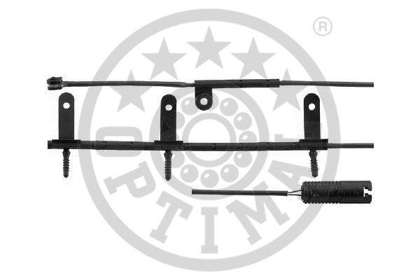Contact d'avertissement, usure des garnitures de frein - OPTIMAL - WKT-50527K