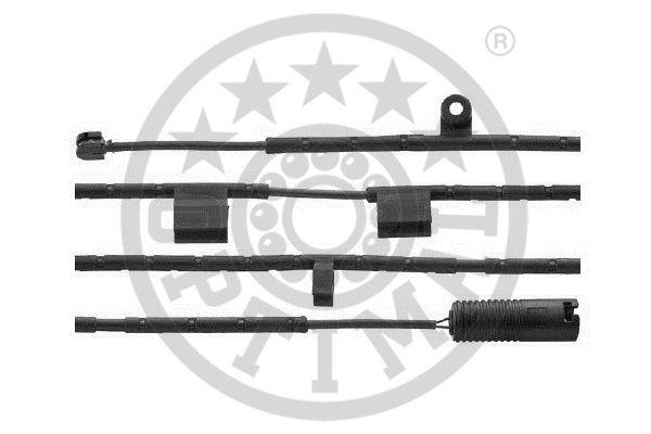 Contact d'avertissement, usure des garnitures de frein - OPTIMAL - WKT-50528K