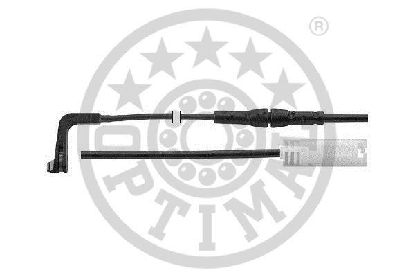Contact d'avertissement, usure des garnitures de frein - OPTIMAL - WKT-50546K