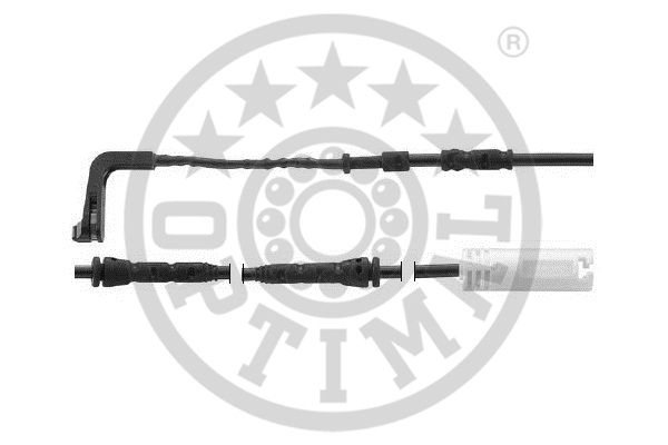 Contact d'avertissement, usure des garnitures de frein - OPTIMAL - WKT-50547K