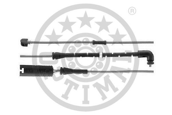 Contact d'avertissement, usure des garnitures de frein - OPTIMAL - WKT-50558K