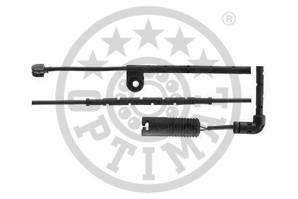Contact d'avertissement, usure des garnitures de frein - OPTIMAL - WKT-50559K