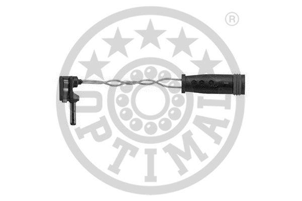 Contact d'avertissement, usure des garnitures de frein - OPTIMAL - WKT-50596K